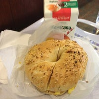 Photo taken at Bagels & Schmear by Cori Sue on 2/18/2013