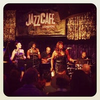 Photo taken at Jazz Cafe by Mark S. on 12/19/2012