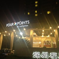 Photo taken at Four Points by Sheraton Shenzhen by Felicia G. on 7/13/2013