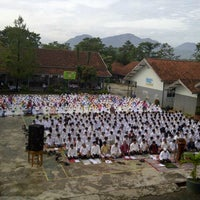 Photo taken at SMAN 1 Cicalengka by Mia A. on 5/24/2013