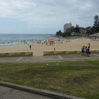 Photo taken at South Cronulla Beach by Mike C. on 12/28/2012