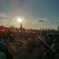 Photo taken at Williamsburg Waterfront by Jen C. on 7/4/2013