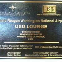 Photo taken at USO - Reagan National Airport (DCA) by Roy L. on 9/4/2013