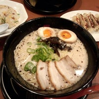 Photo taken at らー麺 藤平 枚方茄子作東店 by FakeYngwie on 3/22/2014