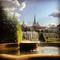 Photo taken at Wallenstein Garden by Nikol Z. on 7/9/2013