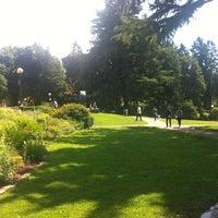 Photo taken at Volunteer Park by Matthew C. on 7/31/2012