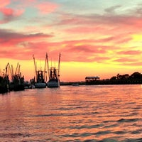 Photo taken at Shem Creek by M. B. on 7/19/2013