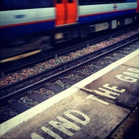 Photo taken at Bushey Railway Station (BSH) by Andrew W. on 10/19/2012