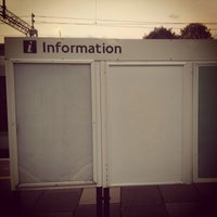 Photo taken at Bushey Railway Station (BSH) by Andrew W. on 10/26/2013