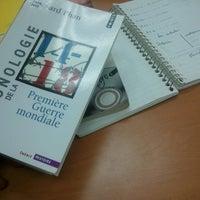 Photo taken at Biblioteca Juan Bosch FUNGLODE by JJ M. on 8/28/2013