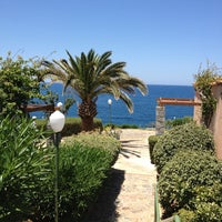 Photo taken at Iberostar Creta Panorama by Nicolas V. on 6/21/2013