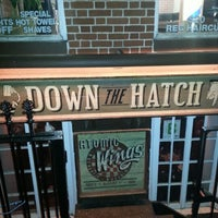 Photo taken at Down the Hatch by Tyrone-Shawn C. on 10/17/2012