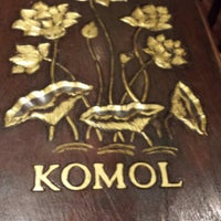 Photo taken at Komol Restaurant by Justin P. on 5/27/2013