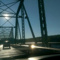 Photo taken at New Hope-Lambertville Toll Supported Bridge by James D. on 6/13/2016