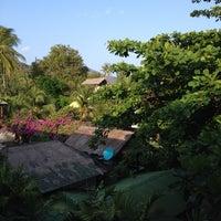 Photo taken at Pariya Resort & Villas Haad Yuan Koh Phangan by Kai on 3/11/2014