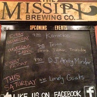Photo taken at Missipi Brewing Co by Axe M. on 4/20/2014