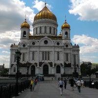 Photo taken at Patriarshiy Bridge by Артем П. on 6/6/2013