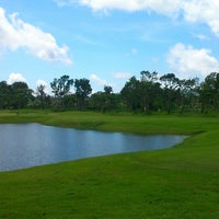 Photo taken at Canlubang Golf Club by Takahiro I. on 9/8/2014