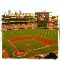 Photo taken at Turner Field by Shannon P. on 7/14/2013