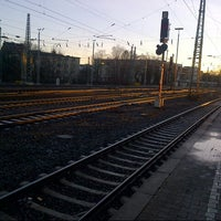 Photo taken at Aachen West Station by Desiree C. on 12/30/2013