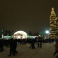 Photo taken at Victoria Park by Artem R. on 1/1/2013