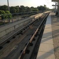 Photo taken at Forest Lane Station (DART Rail) by Daniel Dallas M. on 8/1/2013