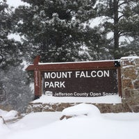 Photo taken at mt falcon Park by Mark G. on 2/24/2013