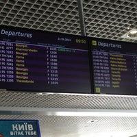 Photo taken at Terminal F (KBP) by Алексей Г. on 6/21/2013