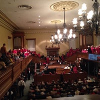 Photo taken at St. George Tabernacle by Kyle A. on 2/10/2014