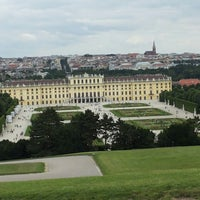 Photo taken at Schonbrunn Palace by Vera S. on 6/27/2013