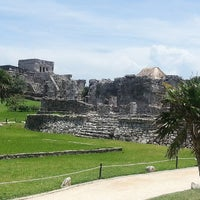 Photo taken at Zona Arqueológica de Tulum by Richards R. on 7/19/2013