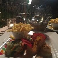 Photo taken at Restaurant du Port de Pully by Fabio V. on 9/27/2016
