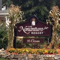 Photo taken at Nonantum Resort by Kristine P. on 9/22/2014