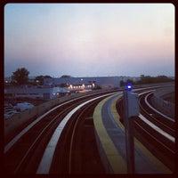 Photo taken at JFK AirTrain - Federal Circle Station by Debra R. on 5/30/2013