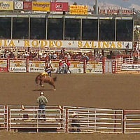 Photo taken at California Rodeo Salinas by Andrea F. on 7/21/2013