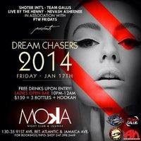 Photo taken at Moka Nightclub & Lounge by Sajjaad F. on 1/17/2014