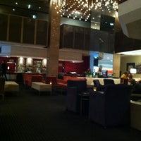 Photo taken at Hilton Adelaide by Katrina L. on 2/5/2013