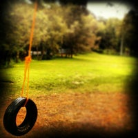 Photo taken at Parque Los Columpios by Chely P. on 7/28/2013