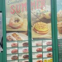 Photo taken at Krispy Kreme Doughnuts by Rhonda H. on 7/19/2014