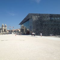 Photo taken at Musée des Civilisations de l'Europe et de la Méditerranée (MuCEM) by Charles M. on 8/23/2013