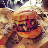 Photo taken at Bareburger by Christopher P. on 4/20/2013