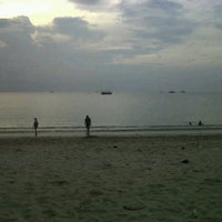 Photo taken at Tanjung Lesung by Risty A. on 11/10/2013