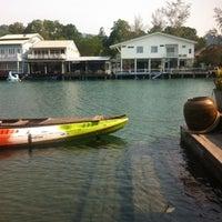 Photo taken at Keereeta Lagoon, Koh Chang by Dmytro K. on 2/5/2015