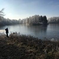 Photo taken at Kestřany by Soňa B. on 1/1/2017