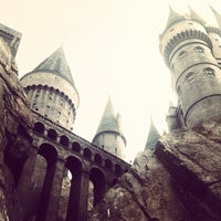 Photo taken at Harry Potter and the Forbidden Journey / Hogwarts Castle by Dean W. on 4/29/2013