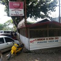 Photo taken at Kambingan Sa Buena Oro by Jaysan Ray C. on 2/16/2014