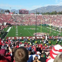 Photo taken at Rose Bowl Stadium by CYN on 1/1/2013