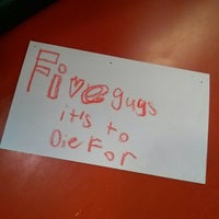 Photo taken at Five Guys by N G. on 6/6/2013
