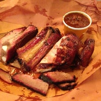Photo taken at Hill Country Barbecue Market by Lucas M. on 3/27/2013