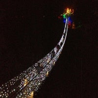 Photo taken at Capilano Suspension Bridge by Jay M. on 12/1/2012